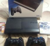 Продам PS3 super slim 500 gb