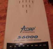 Внешний модем acorp 56000