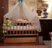 Детская кровать. С маятником