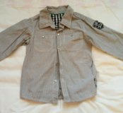 Рубашка для мальчика 116-122 (6-7 лет)