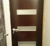 Дверь полотно + коробка венге