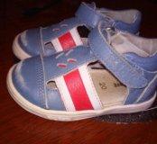 Кожанные сандали
