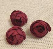 Искусственные цветы, бутоны