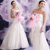 Дешёвое свадебное платье русалка