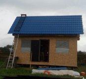 Строительство дачных бытовок и гостевых домиков.