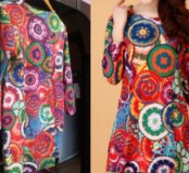 Платье ретро. 48 Новое
