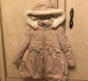 Курточка весенняя для девочки 98р
