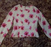 Блузка укороченная