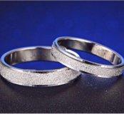 2 новых обручальный кольца
