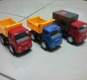 Модельки грузовозы