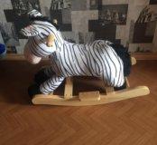 Качалка-зебра