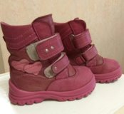 Ботинки зимние кожаные ТОТТО