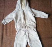 Утепленный костюм 74 см