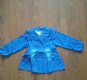 Джинсовое платье для девочки
