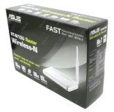 Wifi роутер asus для интернета. Белый