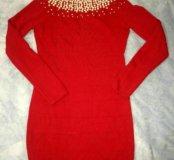 Стрейч-платье