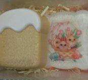 Пасхальный набор мыла ручной работы