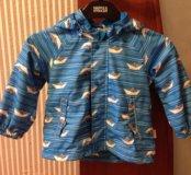 Куртка осень/весна Reima 86+,на флисе
