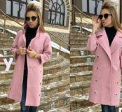 Женское весеннее пальто, кашемир