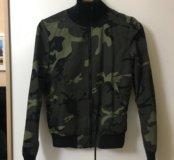 Куртка ветровка-бомбер