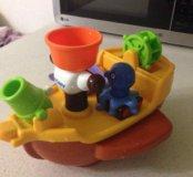 Игрушка для ванны Пиратский корабль