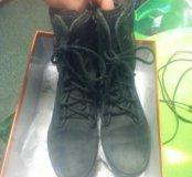 Ботинки Ecco нубук