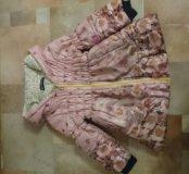 Пальто на весну-осень для девочки