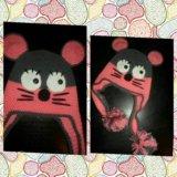 Шапка мышка