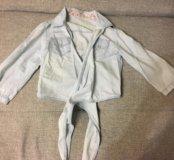 Рубашка-накидка р 42