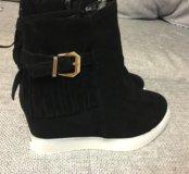 Новые ботинки на р 40 стопа 26-26,5 см