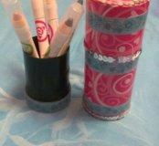 Подарочный набор-пенал жля макияжа