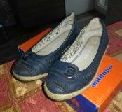 Туфли на девочку р.28