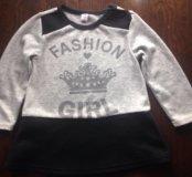 Модный свитерок на 1-2 годика