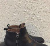 Кожаные ботинки Zara р. 28
