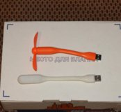 Usb led фонарик, вентилятор.