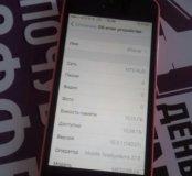Айфон 5с16розовый