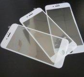 iPhone 7 защитное стекло 3d