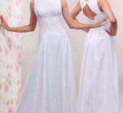 Новое белое свадебное платье 42-44-46-48