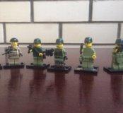 Лего солдатики