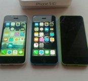 iPhone 5c (2 шт раб. и 1 на зап.)