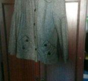 Пальто-пиджак на теплую весну-осень