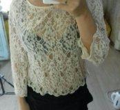 Новая кофточка блузка h&m кружево