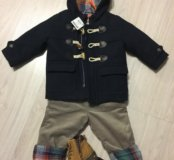 Пакет новой одежды next на мальчика 86см