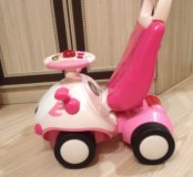 Ходунки-каталка для девочки