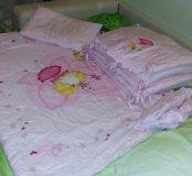 Комплект в детскую кроватку премиум