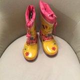 Резиновые сапоги для девочки Антилопа