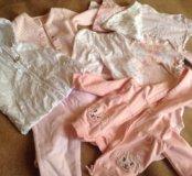Большой пакет одежды на девочку 8-12 месяцев