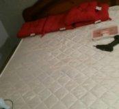 Кровать с матрас