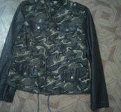 Куртка милитари новая
