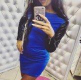 Новое синие платье